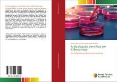 Capa do livro de A divulgação científica em Ciência Hoje