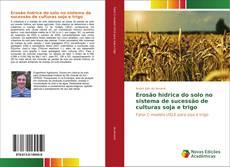 Bookcover of Erosão hídrica do solo no sistema de sucessão de culturas soja e trigo