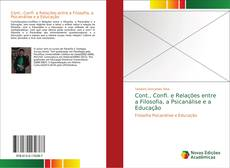 Portada del libro de Cont., Confl. e Relações entre a Filosofia, a Psicanálise e a Educação