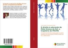 Capa do livro de O direito à educação de Mato Grosso do Sul: a trajetória do PEE/MS