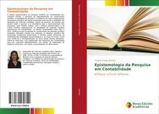 Capa do livro de Epistemologia da Pesquisa em Contabilidade