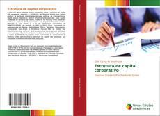 Capa do livro de Estrutura de capital corporativo