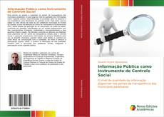 Copertina di Informação Pública como Instrumento de Controle Social