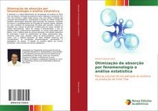 Copertina di Otimização da absorção por fenomenologia e análise estatística