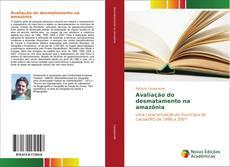 Capa do livro de Avaliação do desmatamento na amazônia