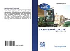 Couverture de Baumaschinen in der Kritik
