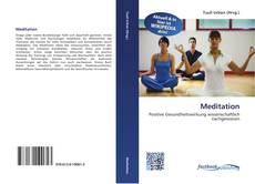 Capa do livro de Meditation