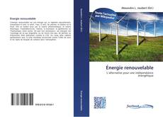 Couverture de Énergie renouvelable