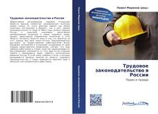 Bookcover of Трудовое законодательство в России