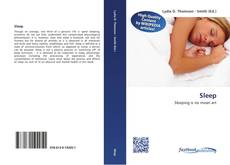 Bookcover of Sleep