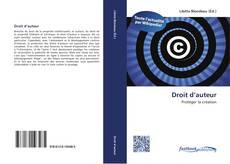 Bookcover of Droit d'auteur