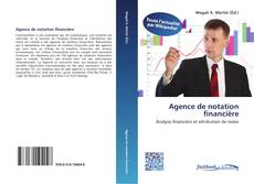 Capa do livro de Agence de notation financière