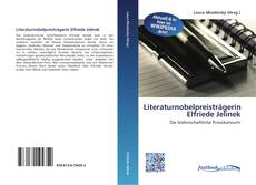 Portada del libro de Literaturnobelpreisträgerin Elfriede Jelinek