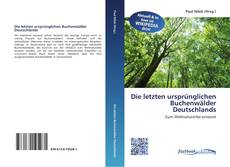Buchcover von Die letzten ursprünglichen Buchenwälder Deutschlands