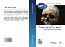 Bookcover of Crimes contre l'humanité