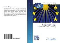 Bookcover of Vereintes Europa