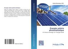 Обложка Énergie solaire photovoltaïque