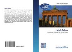 Portada del libro de Hotel Adlon