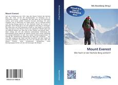 Mount Everest kitap kapağı