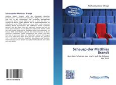 Portada del libro de Schauspieler Matthias Brandt