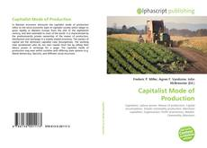 Bookcover of Capitalist Mode of Production
