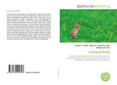 Capa do livro de Central Park