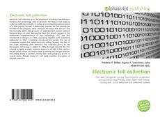 Обложка Electronic toll collection