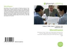 Couverture de Microfinance