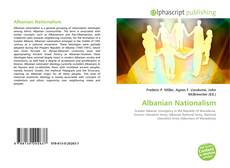 Capa do livro de Albanian Nationalism