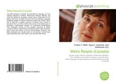 Borítókép a  Métis People (Canada) - hoz