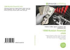 Portada del libro de 1998 Russian financial crisis