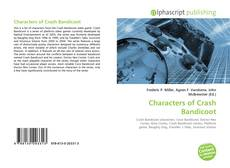 Обложка Characters of Crash Bandicoot