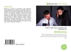 Обложка Meritocracy