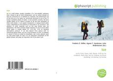 Bookcover of Ice