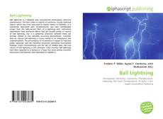 Bookcover of Ball Lightning