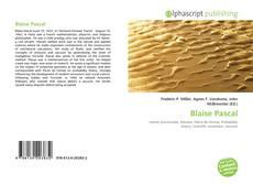 Buchcover von Blaise Pascal