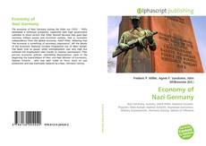 Bookcover of Economy of Nazi Germany
