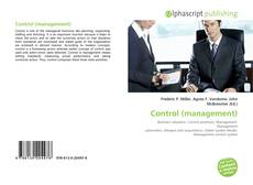 Bookcover of Control (management)