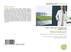Bookcover of Model (person)