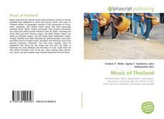Music of Thailand kitap kapağı