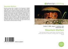 Mountain Warfare kitap kapağı