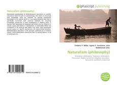 Couverture de Naturalism (philosophy)