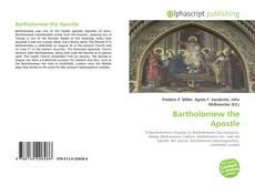 Bartholomew the Apostle kitap kapağı