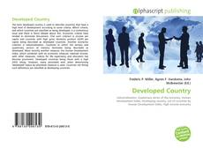 Bookcover of Developed Country