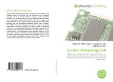 Central Processing Unit的封面