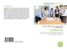 Couverture de Employment