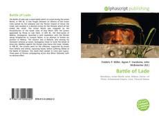 Buchcover von Battle of Lade