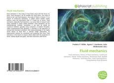 Bookcover of Fluid mechanics