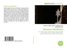 Copertina di Abraham Goldfaden