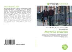 Bookcover of Alternative education